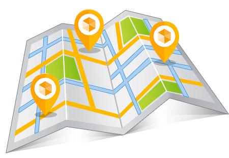 Accident Repair Centres Map